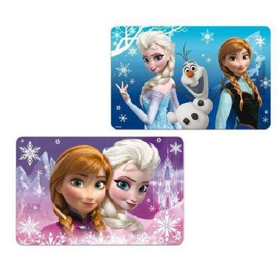 LOT DE 2 SETS DE TABLE LA REINE DES NEIGES 3D