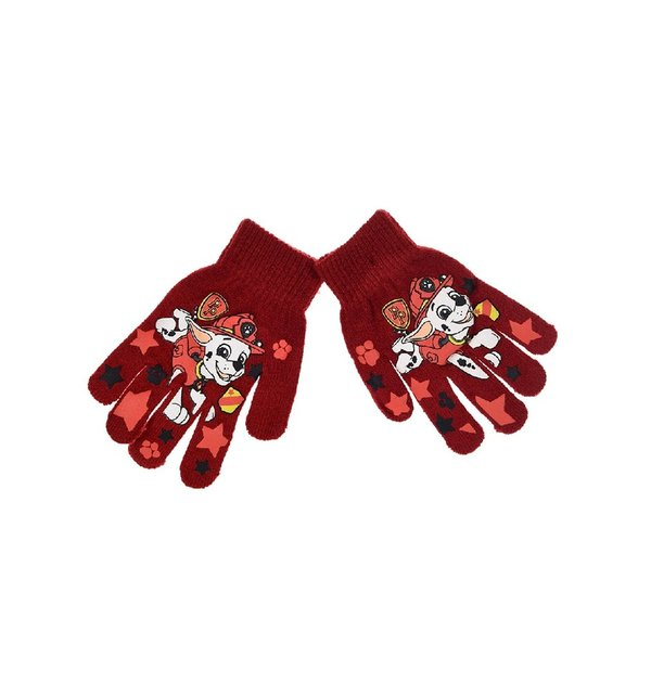 GANTS PAT PATROUILLE MARSHALL ROUGE