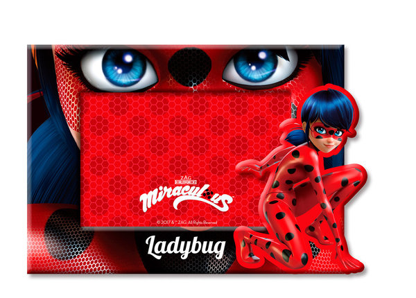 CADRE PHOTO MIRACULOUS LADY BUG