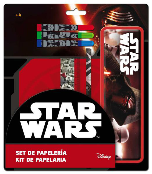 SET PAPETERIE STAR WARS
