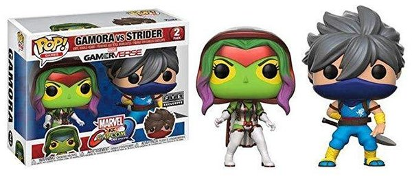 FIGURINE POP GAMORA VS STRIDER ( MARVEL GAMERVERSE )