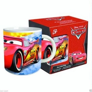 TASSE CARS ROUGE