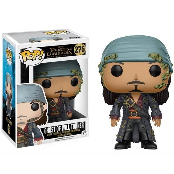 FIGURINE POP GHOST OF WILL TURNER (PIRATES DE CARABES) N° 275