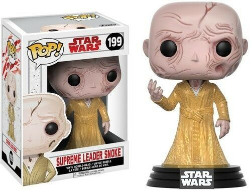 FIGURINE POP SUPREME LEADER SNOKE ( STAR WARS ) N° 199