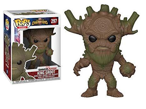 FIGURINE POP KING GROOT ( MARVEL CONTEST OF CHAMPIONS) N° 297