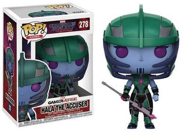 FIGURINE POP HALA THE ACCUSER ( GUARDIANS OF THE GALAXY - MARVEL ) N° 278